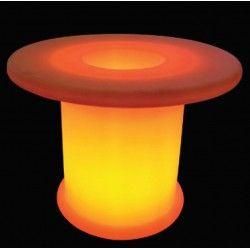 Trädgårdslampor V-Tac RGB LED bord - Uppladdningsbart, med fjärrkontroll, Ø70x54 cm