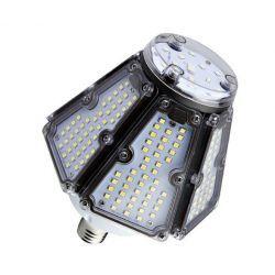LED lampor Lagertömning: LEDlife 40W lampa till gatuarmatur - 150lm/w, Ersättning for 120W Metallhalogen, IP66 vattentät, E40
