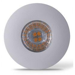 Kök och skåp LEDlife Inno69 köksbelysning - Hål: Ø5,5 cm, Mål: Ø6,9 cm, RA95, matt vit, 6V