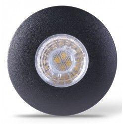 LEDlife Inno69 köksbelysning - Hål: Ø5,5 cm, Mål: Ø6,9 cm, RA95, svart, 6V