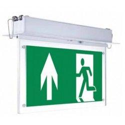 LED Exit skylt V-Tac takmonteret/indbyggt LED exit skilt - 2W, Samsung LED chip