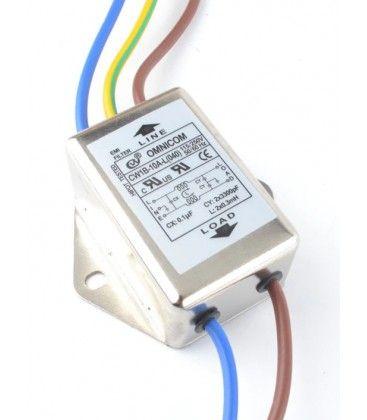 EMI filter - Brusfilter, 10A, 230V