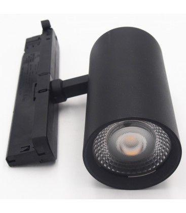 LEDlife svart skena spotlight 30W - Flicker free, Citizen LED, RA90, 3-fas