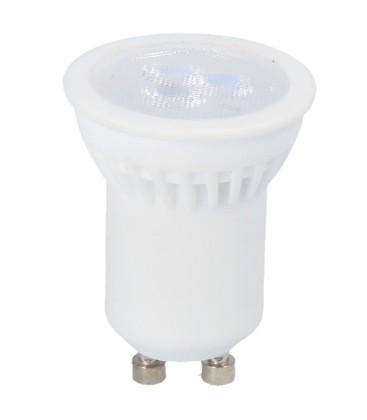 Mini 3W LED spotlight - Ø35mm, keramiska, 230V, mini GU10