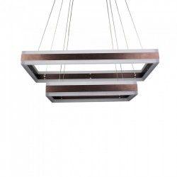 LED takpendel V-Tac 115W LED ljuskrona - Mjukt ljus, dimbar, varmvitt, inkl. ljuskälla