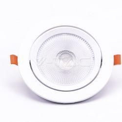 LED Downlights V-Tac 20W LED downlight - Hål: Ø14,5 cm, Mål: Ø17 cm, 3 cm hög, Samsung LED chip, 230V