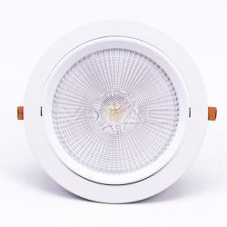 LED Downlights V-Tac 30W LED downlight - Hål: Ø19,5 cm, Mål: Ø22,5 cm, 3 cm hög, Samsung LED chip, 230V