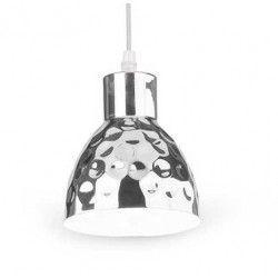 LED takpendel V-Tac koppar pendellampa - Krom färg, Ø15 cm, E27