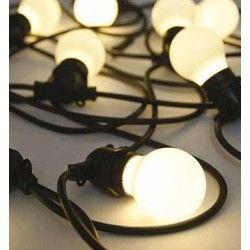 Trädgårdslampor V-Tac LED ljusslinga med 10 stk. 0,5W lampor - 5 meter, IP44, 230V, inkl. ljuskälla