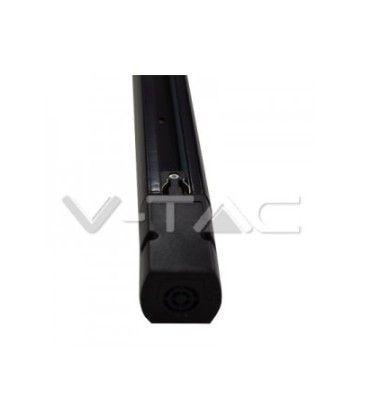 V-Tac 1 meter skena för skenaspotlight - Svart, 3-fas