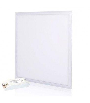 V-Tac 60x60 LED panel - 36W, vit kant