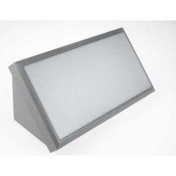 Utomhus vägglampa V-Tac 20W LED vägglampa - Grå, IP65 utomhusbruk, 230V, inkl. ljuskälla