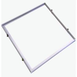Stora paneler Infälld ram för 60x60 LED panel - Perfekt för Troldtekt och gips