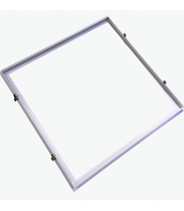 Infälld ram för 60x60 LED panel - Perfekt för Troldtekt och gips