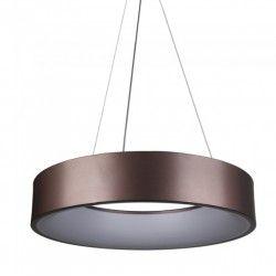 LED takpendel V-Tac 30W LED ljuskrona - Kaffefärgad, mjukt ljus, dimbar, varmvitt, inkl. ljuskälla