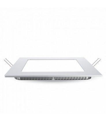 V-Tac 24W LED downlight - Hål: 28x28 cm, Mål: 30x30 cm, 230V, Samsung LED chip