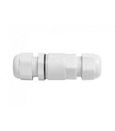 V-Tac vit rund kopplingsdosa - Till samling av kabel, IP68 vattentät