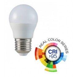 LED Lampor V-Tac 5,5W LED lampa - G45, E27, RA 95