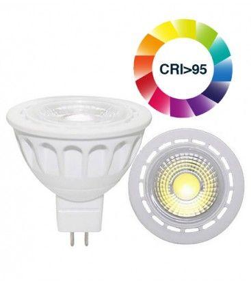 LEDlife LUX3 LED spotlight- 3W, dimbar, RA 95, 12V, MR16 / GU5.3