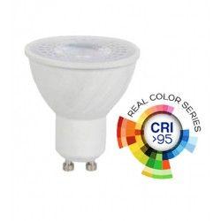 LED Lampor V-Tac 6W LED spotlight - RA 95, 230V, GU10