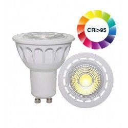 GU10 LED LEDlife LUX3 LED spotlight - 3W, RA 95, dimbar, 230V, GU10
