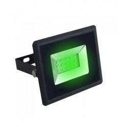 LED växtbelysning V-Tac 10W LED strålkastare - Arbetsarmatur, grön, utomhusbruk