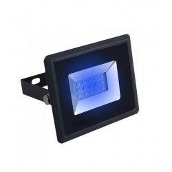 Strålkastare V-Tac 10W LED strålkastare - Arbetsarmatur, blå, utomhusbruk