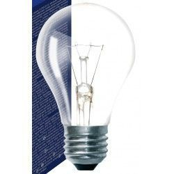 Gammaldags glödlampor Klart E27 40W glödlampa - Traditionel lampa, 415lm, dimbar, A50
