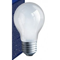 Gammaldags glödlampor Frost E27 60W glödlampa - Traditionel lampa, 710lm, dimbar, A50