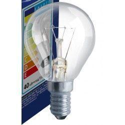 Gammaldags glödlampor Klart E14 25W glödlampa - Traditionel lampa, 200lm, dimbar, PS45