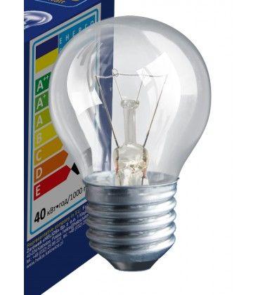 Klart E27 25W glödlampa - Traditionel lampa, 200lm, dimbar, PS45