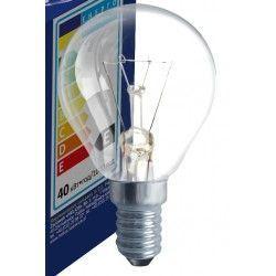 Gammaldags glödlampor Klart E14 40W glödlampa - Traditionel lampa, 400lm, dimbar, PS45