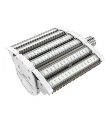LEDlife Justerbar kraftig lampa - 80W, justerbar spridning upp till 270°, IP64 vattentät, E40
