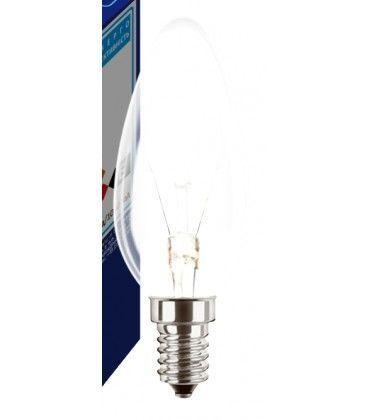 Klart E14 25W glödlampa - Traditionel lampa, 200lm, dimbar, B35
