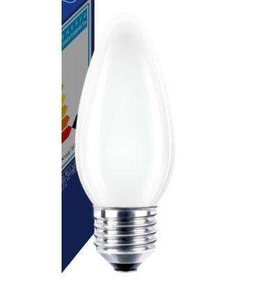 Frost E27 40W glödlampa - Traditionel lampa, 400lm, dimbar, B35