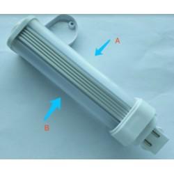G24D (2 ben) LEDlife G24D LED lampa - 5W, 240°, matt glas