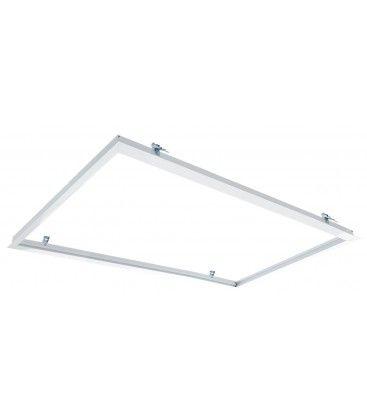 Infälld ram för 120x60 LED panel - Perfekt för Troldtekt och gips