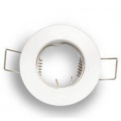 Inomhus downlights Downlight kit utan ljuskälla - Hål: Ø5 cm, Mål: Ø6 cm, matt vit, välj MR11 eller GU10 sockel