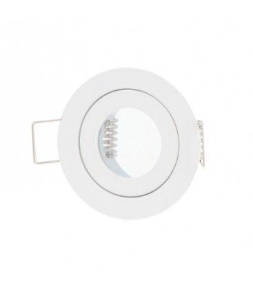 Downlight kit utan ljuskälla - Hål: Ø4 cm, Mål: Ø5,5 cm, vit, IP44, välj MR11 eller mini GU10