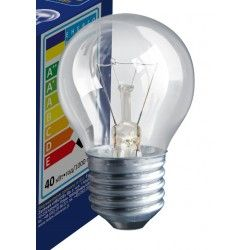 Gammaldags glödlampor Klart E27 40W glödlampa - Traditionel lampa, 400lm, dimbar, PS45