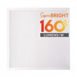 Stora paneler V-Tac LED panel 60x60 - 25W, 4000lm, 160lm/w, indbyggt i vit ram