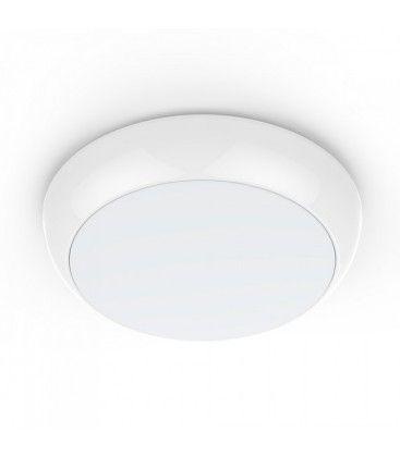 V-Tac 15W LED takarmatur - Mikrobølgesensor, skymningssensor, nattlys, IP65, inkl. ljuskälla