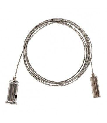 Wireupphäng för armatur - 1,5 meter, justerbar höjd, 2-pack