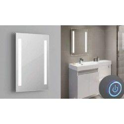 Speglar med ljus Spejl med indbyggt LED lys - 37W, Touch, Justerbar varm-koldt lys