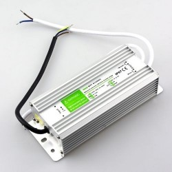 12V RGB 45W strömförsörjning - 12V DC, 4,1A, IP67 vattentät