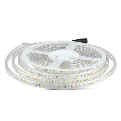 LED strip V-Tac 9W stänksäker LED strip - 5m, IP65, 24V, 60 LED, 9W per. meter!