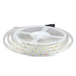 24V V-Tac 9W/m stänksäker LED strip - 5m, IP65, 24V, 60 LED per. meter