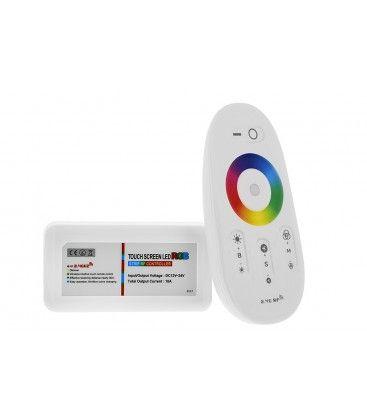 RGB controller med fjärrkontroll - RF trådlös, 12V (216W), 24V (432W)