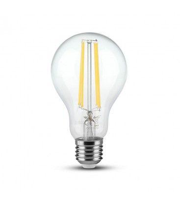 V-Tac 12,5W LED lampa - Filament, A70, E27