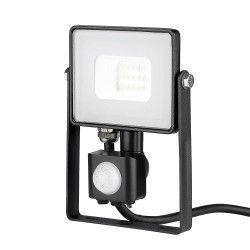Strålkastare V-Tac 10W LED strålkastare med sensor - SMD, Samsung LED chip